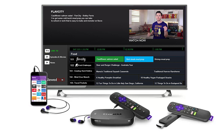 Roku devices GlewedTV