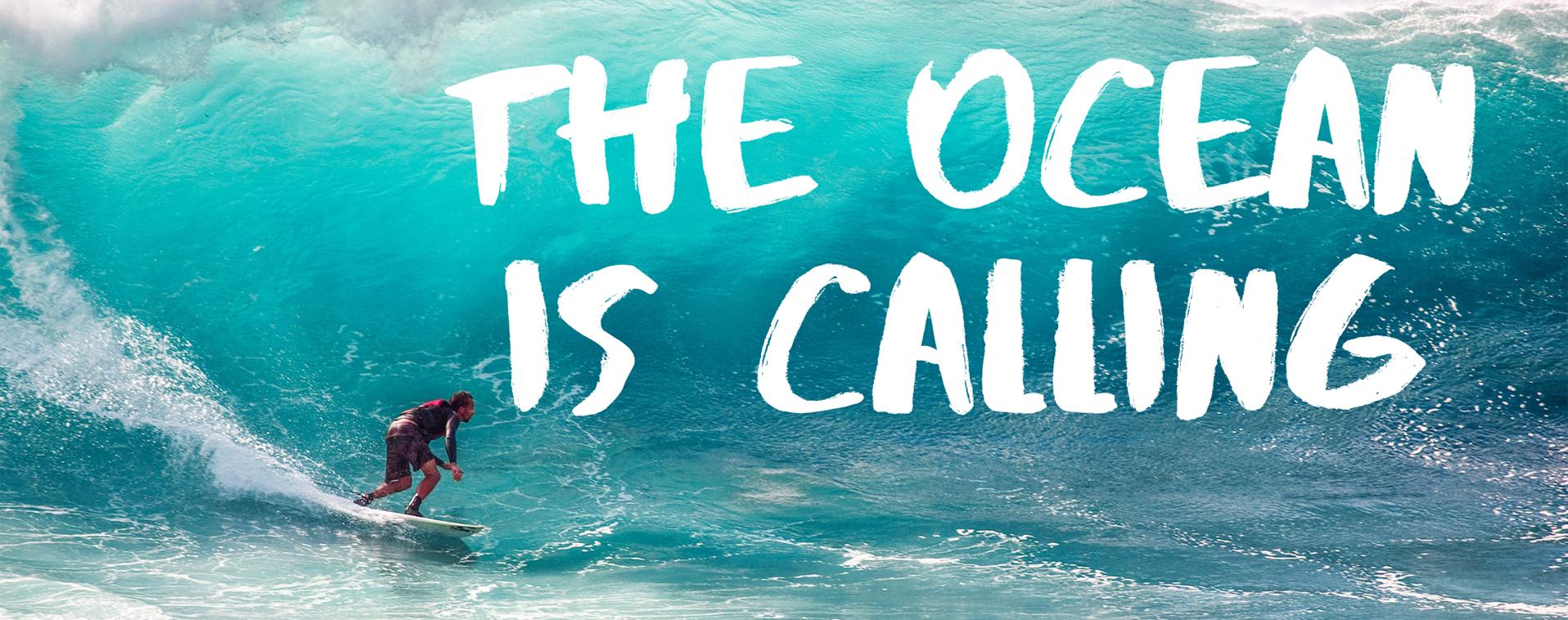 The Ocean Is Calling 1916x758